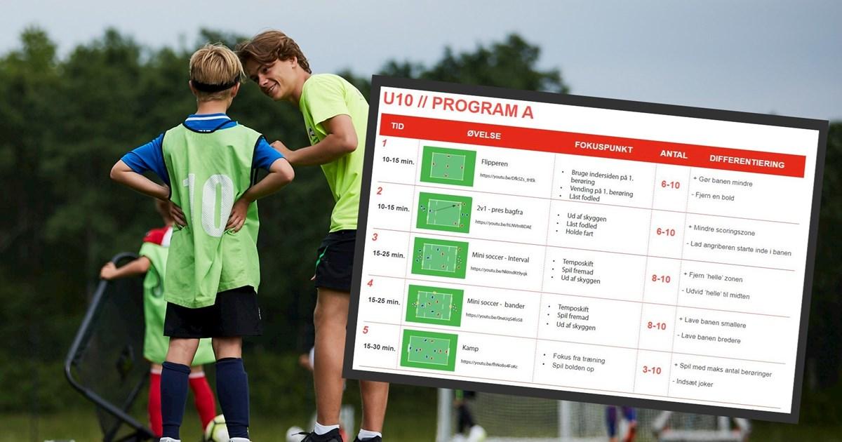 DBU Træningsprogrammer er fortsat til stor gavn for...